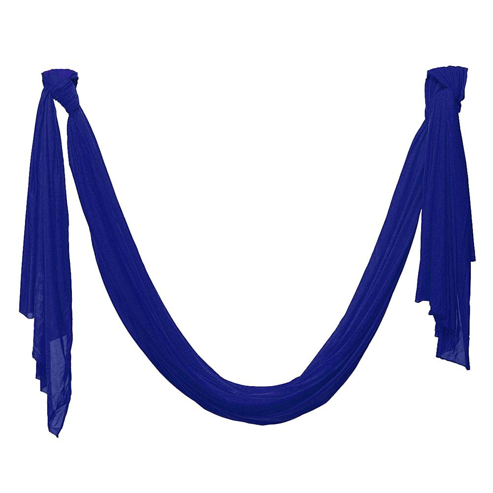 High Strength Inversion Anti-Gravity Flying Yoga Swing Aerial Hammock Fitness dark blue<br>