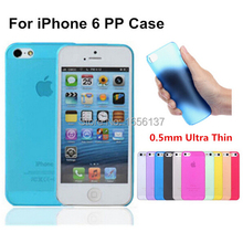 For Apple iPhone 6 6S 6G case New Arrival Fashion Ultra Thin Slim Transparent Design PP Cover Luxury 1 Piece Free Shipping(China)