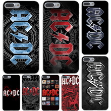 Ac Dc Black ice Heavy Metal Music Band Hard Transparent Cover Case for iPhone 7 7 Plus 6 6S Plus 5 5S SE 5C 4 4S