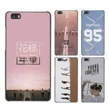 BTS Forever Young Special Album Hard Case Black Cover Scrub for Huawei P8 P9 Lite Plus P7 Mate S 7 8 9