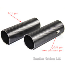 CNC lightweight Teflon Coated ALUMINUM Cylinder Type-1 for airsoft Version 2/3 Gearbox AEG