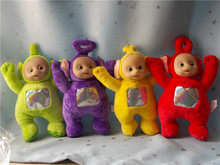 "Teletubbies Po Dipsy Laa Laa And Tinky Winky 10"" Plush Dolls Set 4"