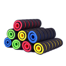 GZDL Cycling Motorcycle Handlebar Foam Sponge Tube Lightweight Soft Anti-Skid Cover Handle Yellow Blue Green Red Grips CP7567(China)