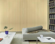 FT-150603 Senior Imitation Straw Texture Striped Wallpaper Roll for Living Room,Vinyl Wall PaperPapel parede listrado