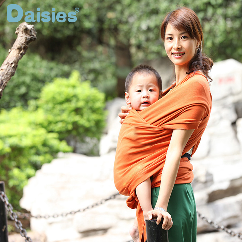 Comfortable Fashion Infant Sling Soft Natural Wrap Carrier Baby Backpack 0-3 Yrs Breathable Cotton Hipseat Nursing Cover adjust<br>