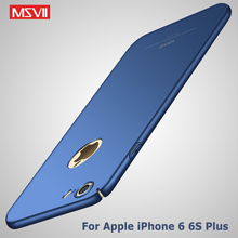 Buy Original Msvii Brand Silm scrub cover iphone 6 plus case hard PC Back cover iphone 6s plus cover iPhone6 phone cases for $4.74 in AliExpress store