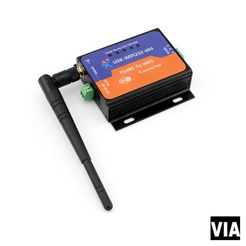 USR-WIFI232-604 Direct Factory Sales USR Serial RS485 to Wifi Converter,Support Transparent Transmission Mode<br>