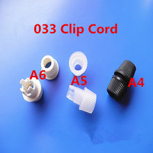 (500pcs/lot ) model number 033 white/black plastic lock wire cap cable strain relief Wire Clamp Cable grip Wire clip
