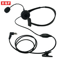XQF 2 Pin Over Head Headset/Earpiece Boom Mic For Motorola GP Series GP68 CP SP CT PRO P XTN CLS Spirit M Series Radio(China)