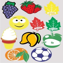 Free Shipping Via Fedex or DHL , Wholesale Paper Air Freshener ,car perfume,Paper Air Freshener With Football Club Logo
