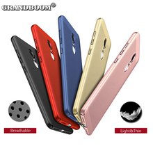 500pcs Heat Dissipation Cooling Case For Xiaomi Redmi 5A Plus 4X 3 2 1S Pro Note 5A 4X 3 2 1Phone Case Shockproof PC Mesh Cover(China)