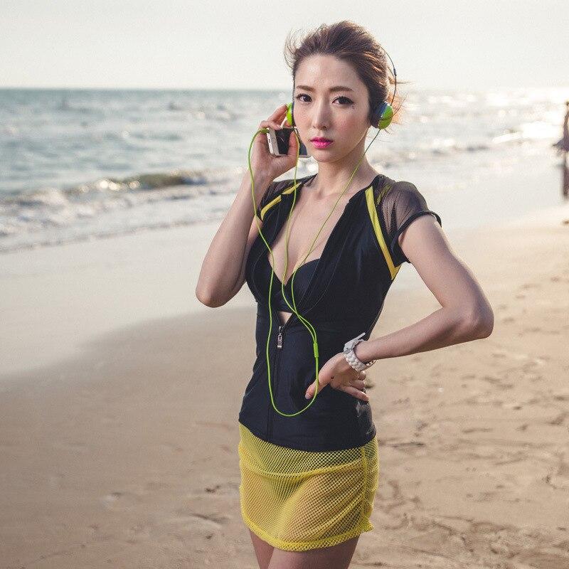 Swimsuit Girls Large Size Bathing Suit Bikini Push Up Vintage Beachwear Shorts 2017 Woman New Bk396 Lycra Mayo Bayan Biquine<br><br>Aliexpress