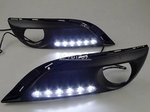Brand New To be Seen DRL LED Daytime Driving Lights 1:1 Ratio Original Size Exact Fit Replacement Kit for Peugeot 308(China)