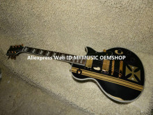 Free Shipping Metallica James Hetfield Iron Cross custom Electric Guitar High Quality HOT