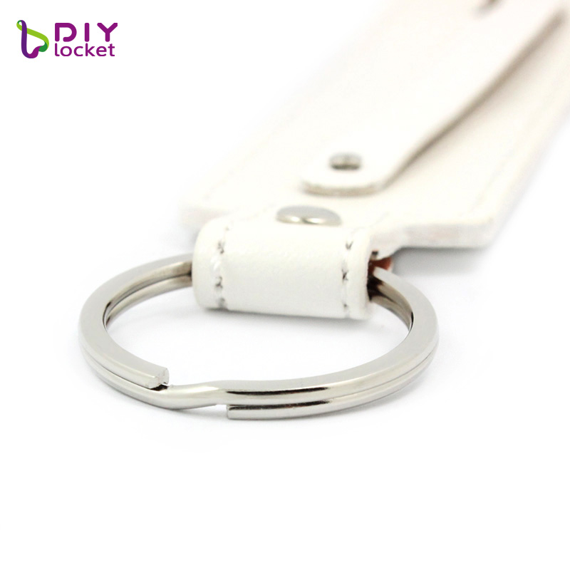 PU leather keychain 1