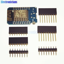ESP8266 ESP-12 USB WeMos D1 Mini WIFI Development Board D1 Mini NodeMCU Lua IOT Board Based On ESP-8266EX 11 Digital Pins 3.3V
