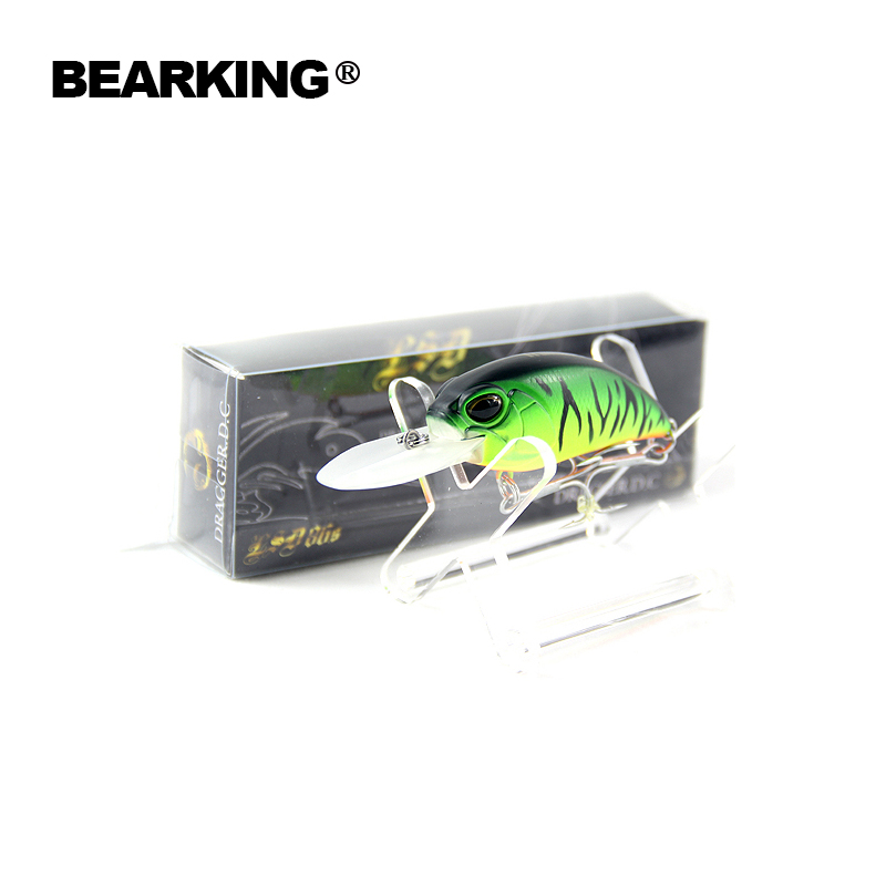 Bearking Hot Model:5pcs/lot professional fishing lures, Mixed colors, Crank 65mm 15.8g, Floating,dive 3m,free shipping<br><br>Aliexpress