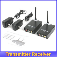 Free shipping! 2.4GHz 0.1w Wireless Audio Video AV Transmitter Receiver 2.4 suitable for TV computer and other displayer