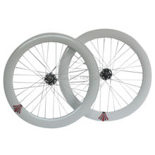 2016 clearance32H sealed bearing Novatec hub wheelset 700C fixed gear road bike wheelset 70mm V brake(China)