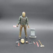 Friday The 13TH The Final Chapter Freddy Vs Jason Action Figure Toy Collection Kids Toys Christmas Birthday Gifts 17cm(China)