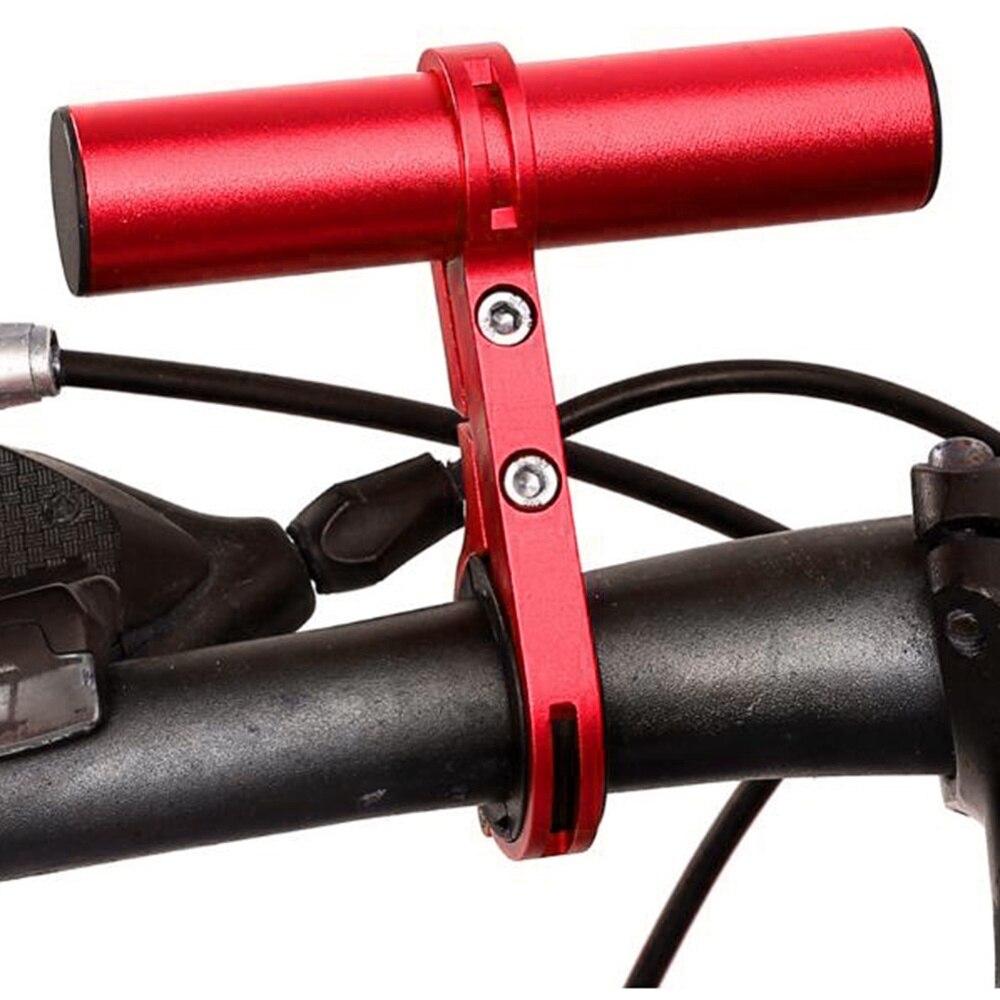 Bike Bicycle Flashlight Holder Handle Bar Front Light Mount Bracket 3 Colors