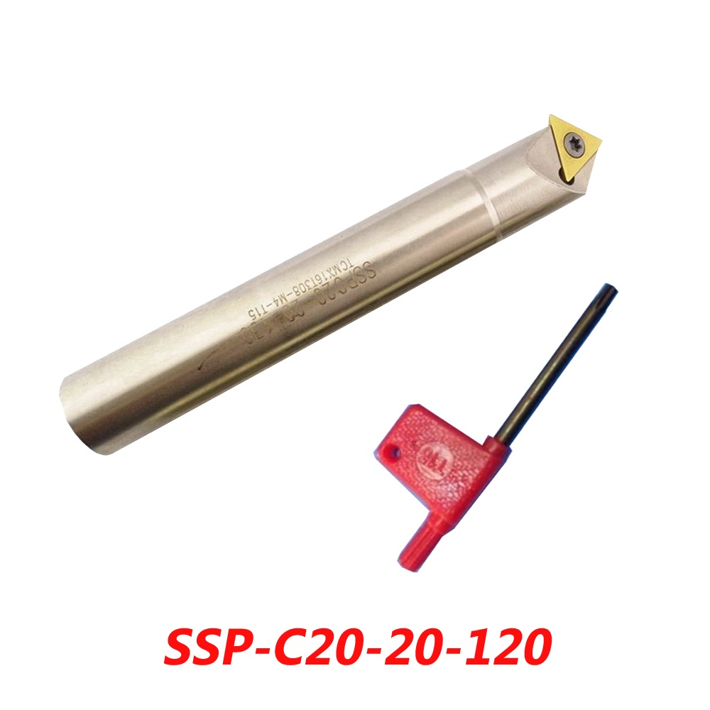 Free Shipping SSP-C20-20-120 45 Angle Spot Chamfer Mill Cutter Suitable For Insert TCMX16T308<br>