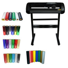 "24"" Vinyl Cutting Plotter & 5 kinds of Heat Transfer Vinyl KIT(China)"