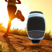 Original B90 Portable Wireless Bluetooth Speaker Watch bluetooth v3.0+EDR Bracelet with MP3 Music Player Hands-free call Radio