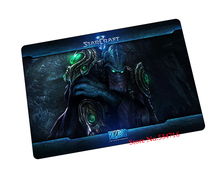 starcraft 2 mouse pad High-quality gaming mousepad Natural rubber gamer mouse mat pad game computer desk padmouse keyboard mats