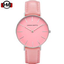 Pink Women watches Top Brand Special Dial Design Nylon Leather Straps Quartz Valentines Day Girl Confession Gift Top With box