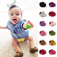 ROMIRUS Tassels Baby Shoes Moccasin Infant Babies First Walkers Newborn Footwears Indoor Boots Kid Pram Newborn Shoes