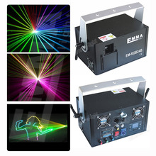 1500MW RGB animation laser 2D+3D change+SD card stage lights /disco laser /club light/party laser/laser show(China)