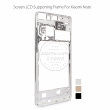 "for Xiaomi Mi Note 5.7"" Metal Front Housing Middle Faceplate Mid Frame Bezel Replacement Cell Phone Repair Spare Parts(China)"