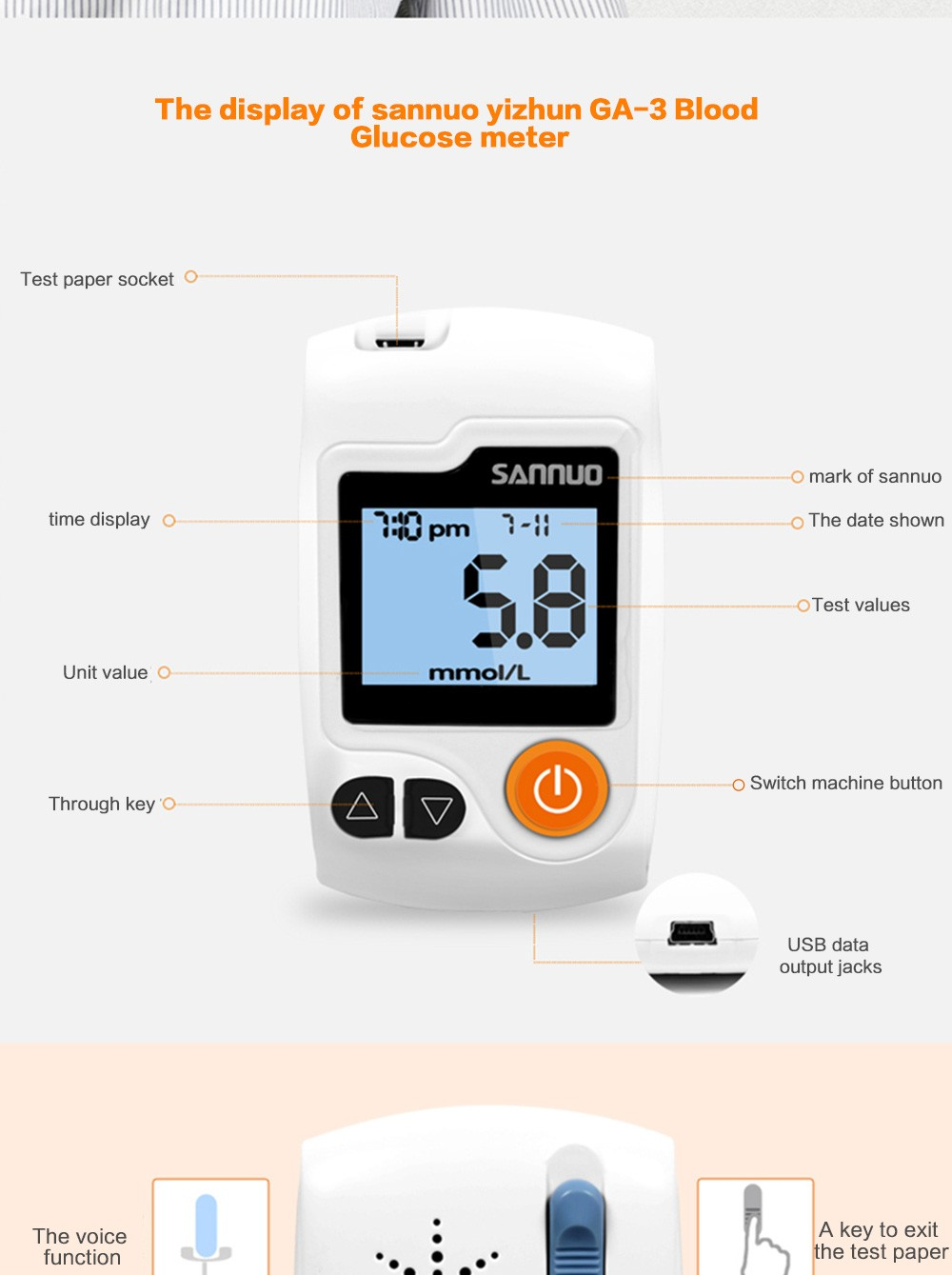 Blood glucose meter-5
