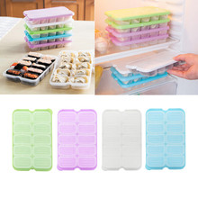 High Quality Household Single Layer Refrigerator Food Airtight Storage Dumplings Eggs Container Plastic Box