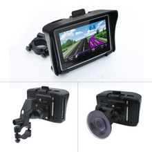 4.3 inch Waterproof IPX7 Motorcycle GPS Navigation MOTO navigator with FM bluetooth 8G Flash auto GPS with free maps