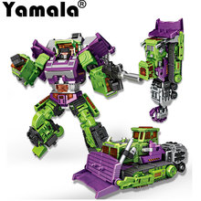 [Yamala] New Transformation Robot Toys Ko Version Gt Scraper Forklift excavator Action Figures Robot Toys