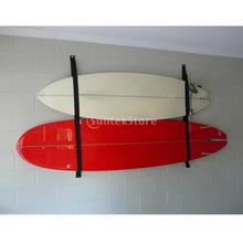 Surfboard Longboard Sling Wall Storage Securing Strap / Rack System SUP Garage Hanger Keeper - Holds 2 Boards(China)