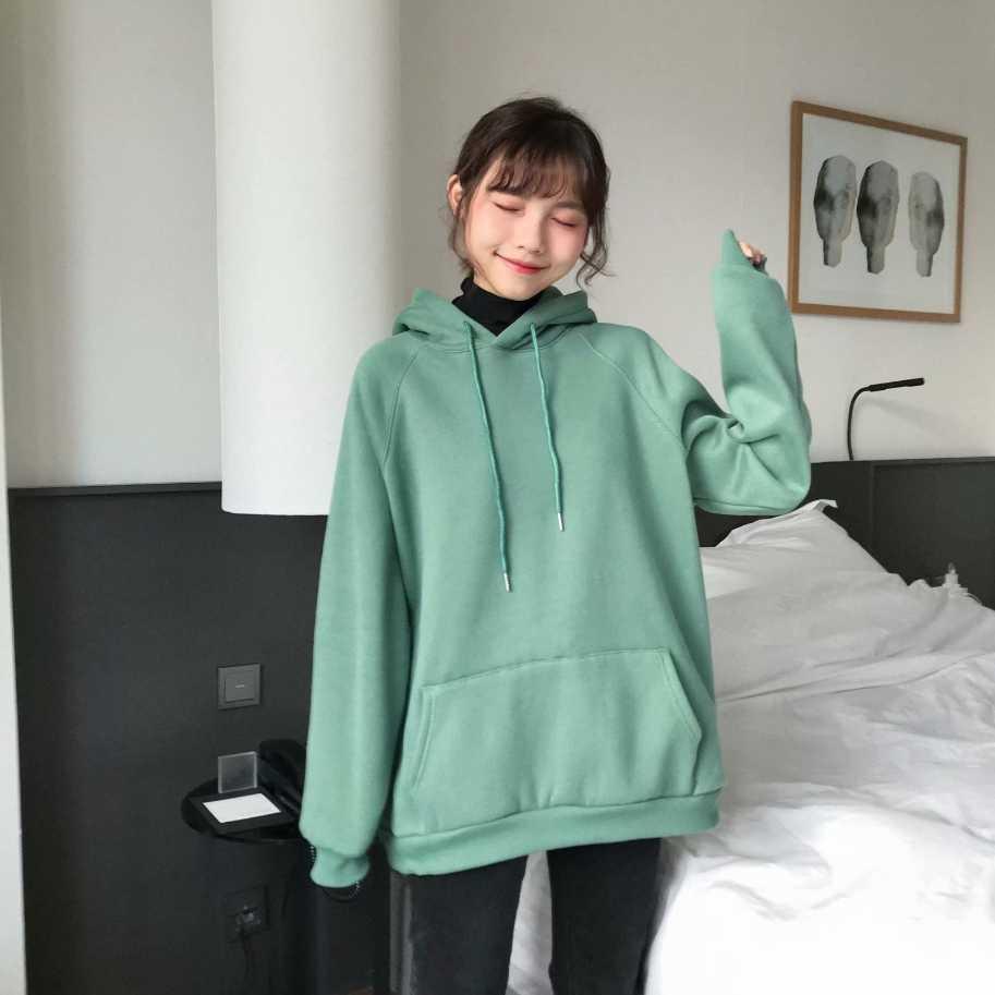 秋パーカー 2020 冬服原宿スウェットシャツの女性韓国スタイルの