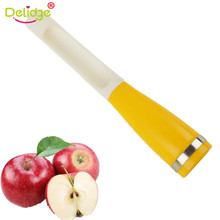 Delidge 1 pc Apples Core Removers Plastic Apple Pear Chili Corers Fruits And Vegetables Kernel Remover Core Seed Remover(China)