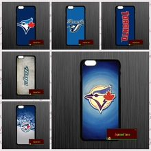 Baseball Toronto Blue Jays Logo Cover case for iphone 4 4s 5 5s 5c 6 6s plus samsung galaxy S3 S4 mini S5 S6 Note 2 3 4  UJ9544
