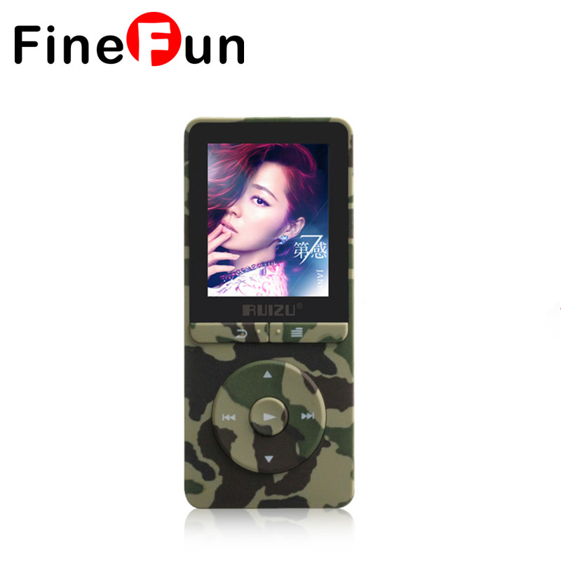 100% Original RUIZU X20 MP3 Player With 1.8 Inch Screen Can Play 100 hours 8gb With FM E-Book Clock Data Free Shipping(China (Mainland))