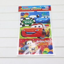Plastic Cars Toys Birthday Gift Bag For Boys Children Set Of 10 Loot Favor Candy Bag With Handle Party Supplies