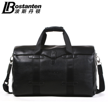 Men's Genuine Leather Real Cow Top Quality Bag Large Capacity Handbag Tote Traveling Bag Suitcase(China)