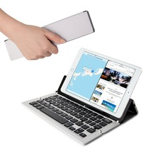 KEMILE Foldable Wireless Pocket Keyboard Universal for Smartphones/Small Tablets /Apple and Android Devices