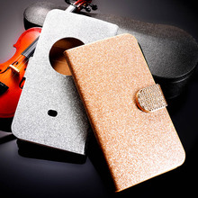 PU Leather Flip Case Bling Diamond Phone Case Cover For Nokia Lumia 1020 4.5 '' Wallet Phone Case Glitter Holster For Nokia 1020