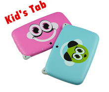 10pcs 4.3 Inch KIDS Android Tablet PC WIFI Dual camera tab pc gift for baby and kids 512MB 4GB KIDS tab pc android mp4 player