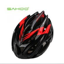 2016 NEW SAHOO Cycling Bike Helmet BMX Bicycle Hero Bike Adjust Helmet carbon With Channeled Vents >20(China)
