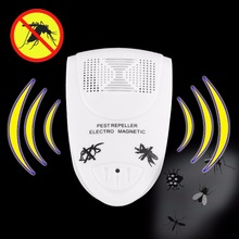 5Pcs US Plug Electronic Ultrasonic Rat Mouse Repellent Anti Mosquito Repeller killer Rodent Pest Bug Reject Mole Mice(China)