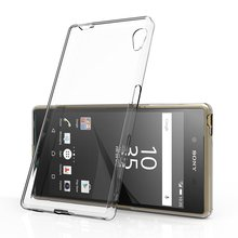 For Sony Xperia Z1 Z2 Z3 Z4 Z5 Compact Premium M2 M4 Aqua M5 C3 C4 C5 X XA Performance Case Transparent Gel Soft TPU Back Cover